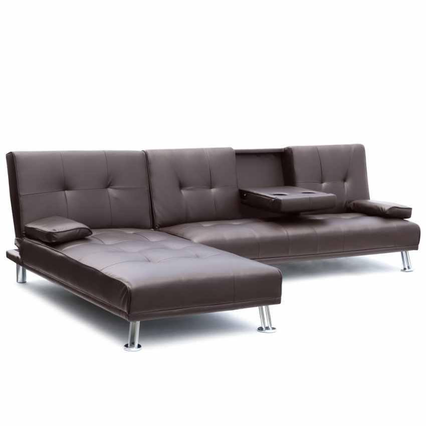 schlafsofa ecksofa 3 sitzer mit armlehne f r wohnzimmer cobalt. Black Bedroom Furniture Sets. Home Design Ideas