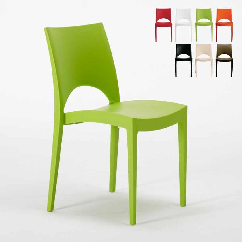 Stühle Bunt sonderangebot 24 stühle polypropylen bunt stapelbar grand soleil