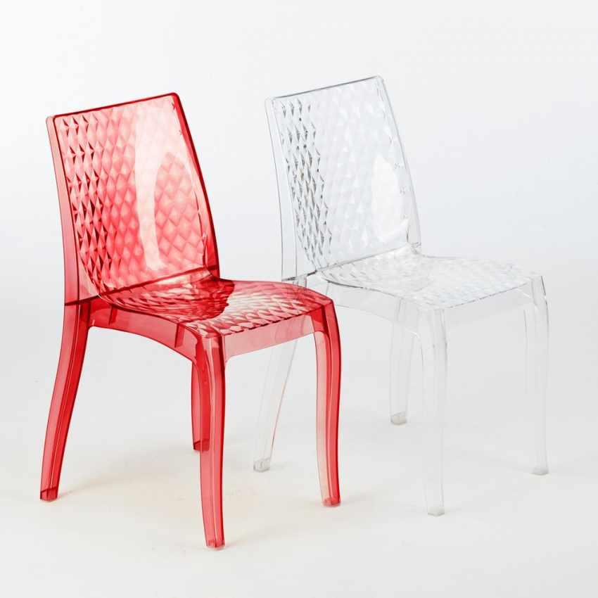 durchsichtiger polycarbonat stuhl stapelbar f r caf s grand soleil hypnotic. Black Bedroom Furniture Sets. Home Design Ideas