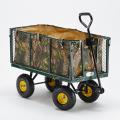 Gartenwagen für den Transport von Holz und Gras 400kg SHIRE - immagine