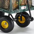 Gartenwagen für den Transport von Holz und Gras 400kg SHIRE - scontato