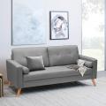 Couch Sofa Modern Design Skandinavisch Stil Stoff 3-Sitzer Wohnzimmer Küche ACQUAMARINA - arredamento