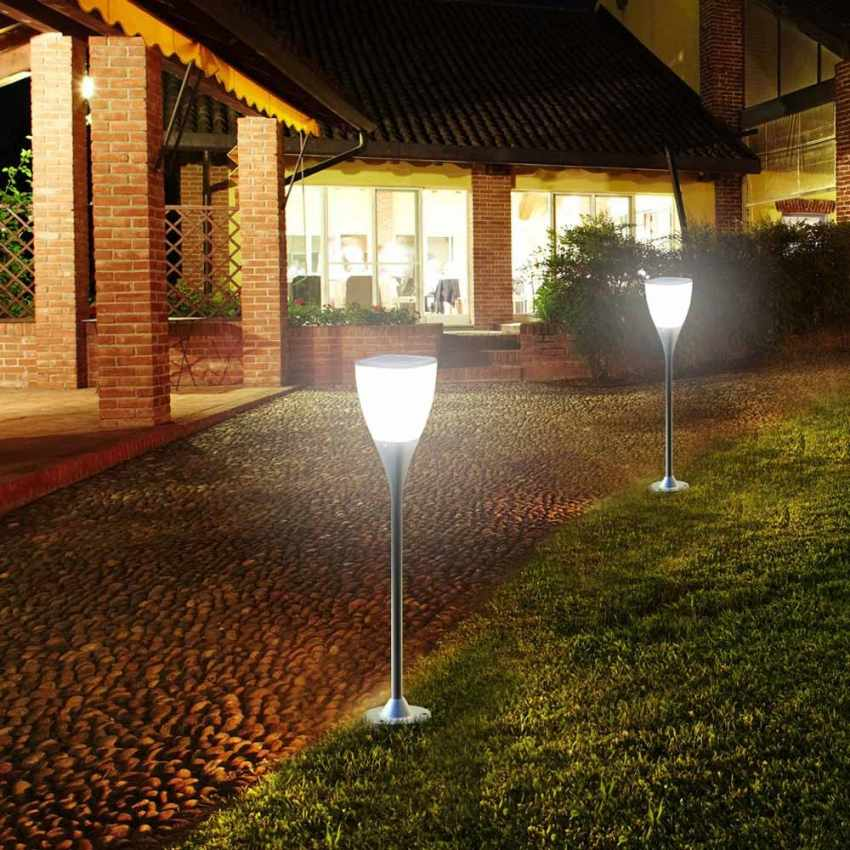gartenlampe solarlampe led solarleuchte au en garten sunway. Black Bedroom Furniture Sets. Home Design Ideas