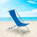 2 Liegestühle Klappbar Strandstühle Aluminium Angebot RICCIONE - offerta