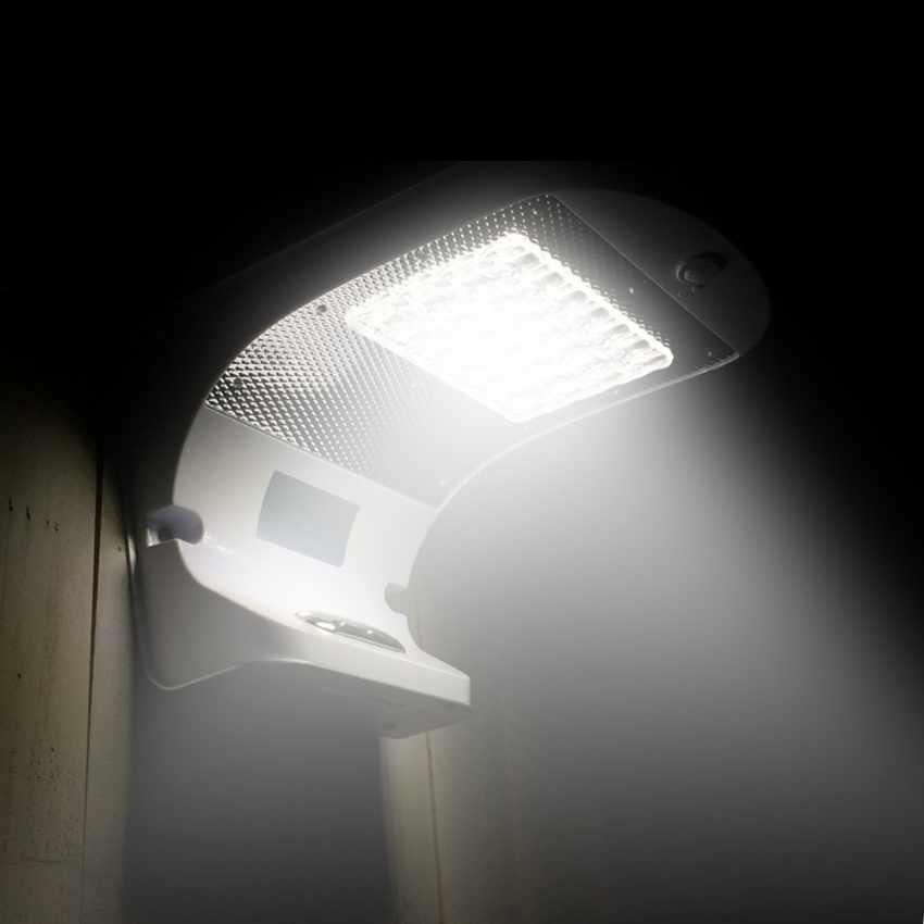 led wandleuchte solarleuchte solarlampe au en garten bewegungsmelder reflex 28. Black Bedroom Furniture Sets. Home Design Ideas