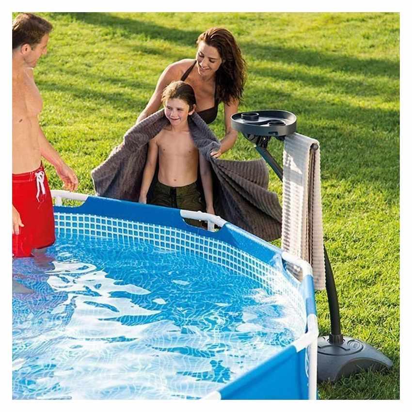 Intex 28092 Handtuch- und Getränkehalter für Aufstellpools - detalle