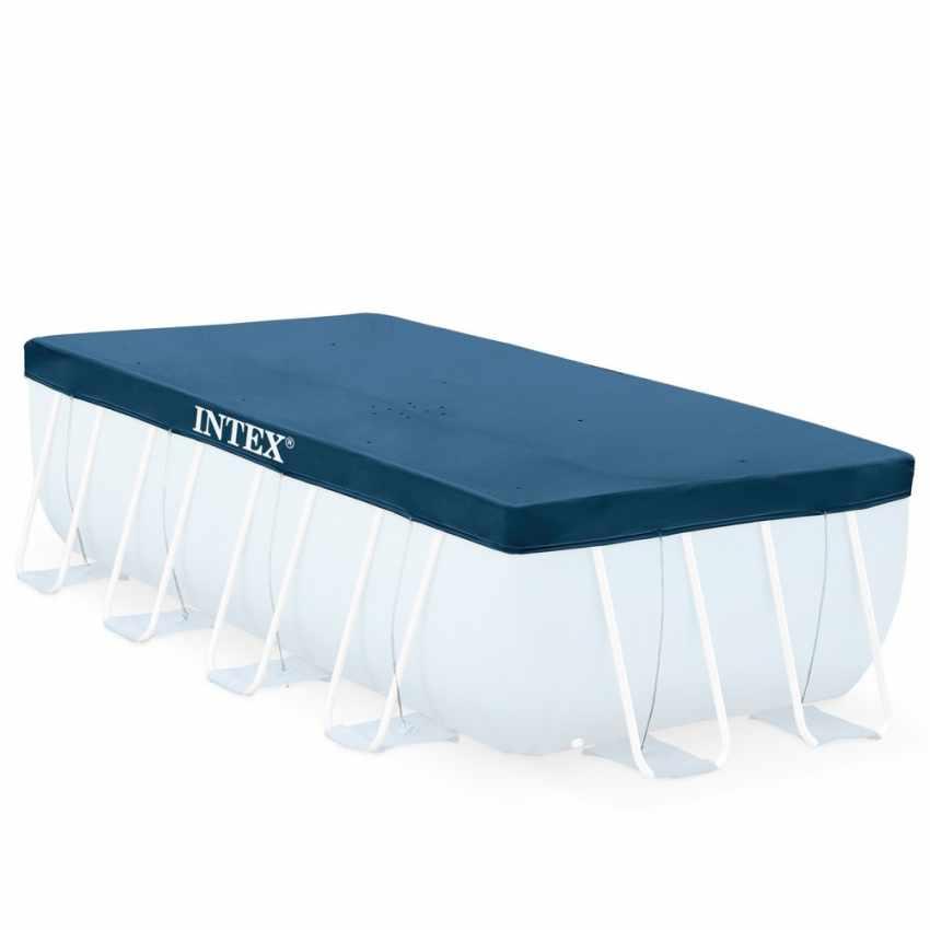 Intex 28037 universelle Abdeckplane rechteckig für Aufstellpools 400x200 cm - arredamento