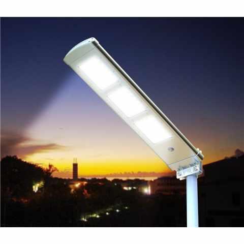 stra enlaterne 72 led 3000 lumen solarmodul parkplatz stra e tracklight. Black Bedroom Furniture Sets. Home Design Ideas