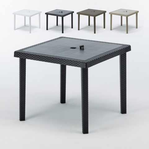 kaffee tisch rund und quadratisch wei schwarz 70x70 bistrot. Black Bedroom Furniture Sets. Home Design Ideas