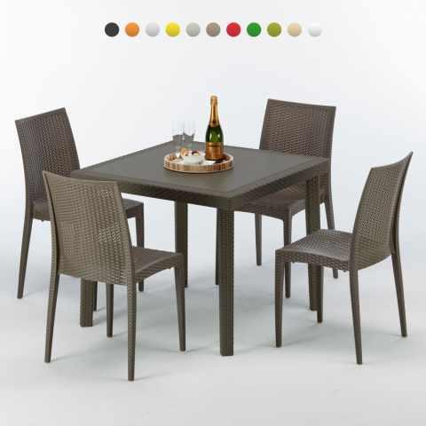 tische und st hle f r caf s garten und au enbereiche. Black Bedroom Furniture Sets. Home Design Ideas