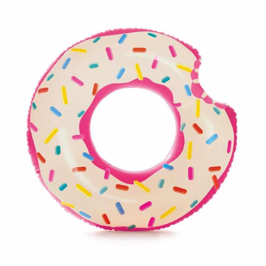 Intex 56265 Donut Tube Aufblasbare Matratze für den Pool