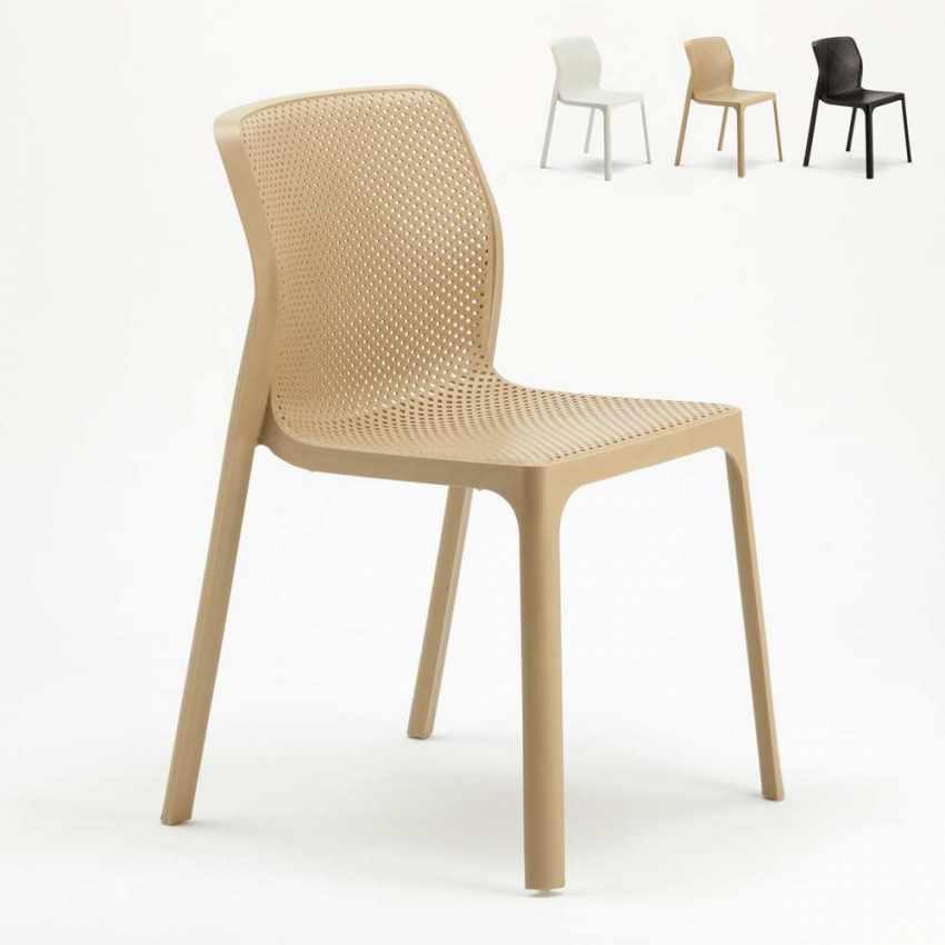 stapelbarer stuhl f r k che und garten. Black Bedroom Furniture Sets. Home Design Ideas