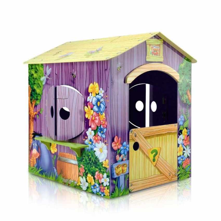 pu der b r spielhaus aus holz f r kinder au en und innenbereich. Black Bedroom Furniture Sets. Home Design Ideas