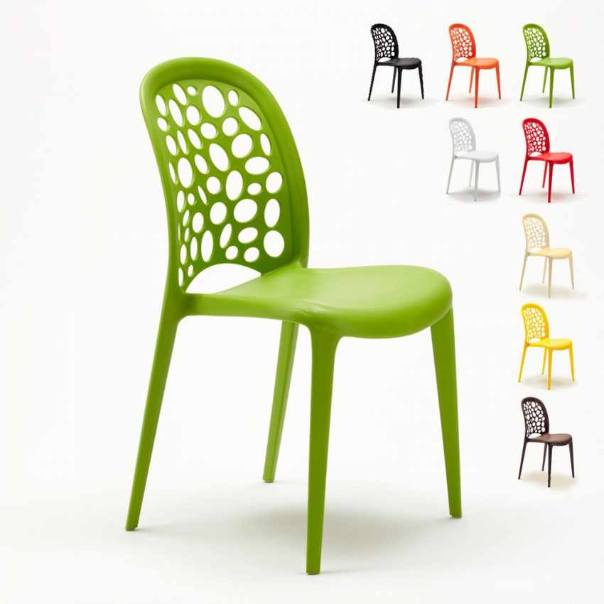 Stühle Küchenstuhl Esstischstuhl Gartenstühle Terrasse WEDDING HOLES ...