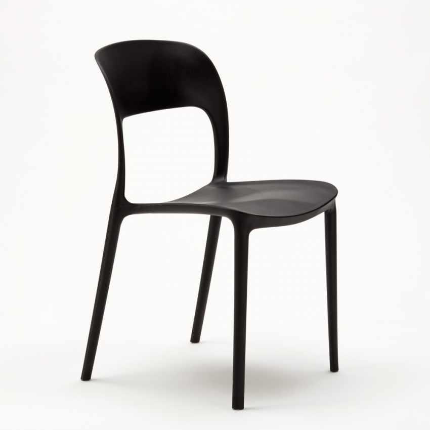 Designer Polypropylen Stuhl Bunt Farbig für Zuhause Küche Café ...